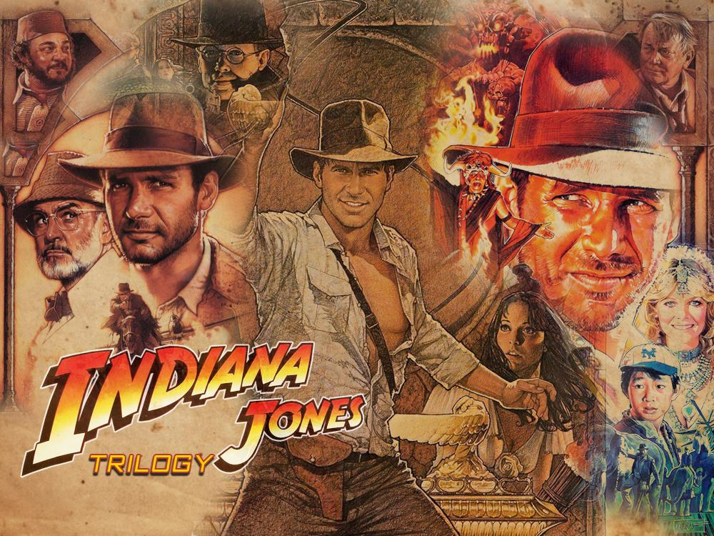 Main image for Indiana Jones Trilogy (12A)