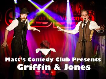 Featured image for Matt's Comedy Club presents Griffin & Jones