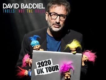 Featured image for David Baddiel – Trolls: Not The Dolls