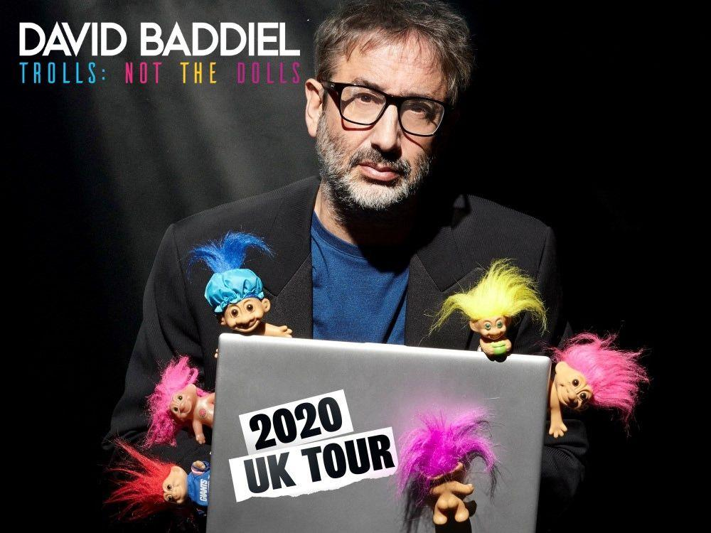 Main image for David Baddiel – Trolls: Not The Dolls