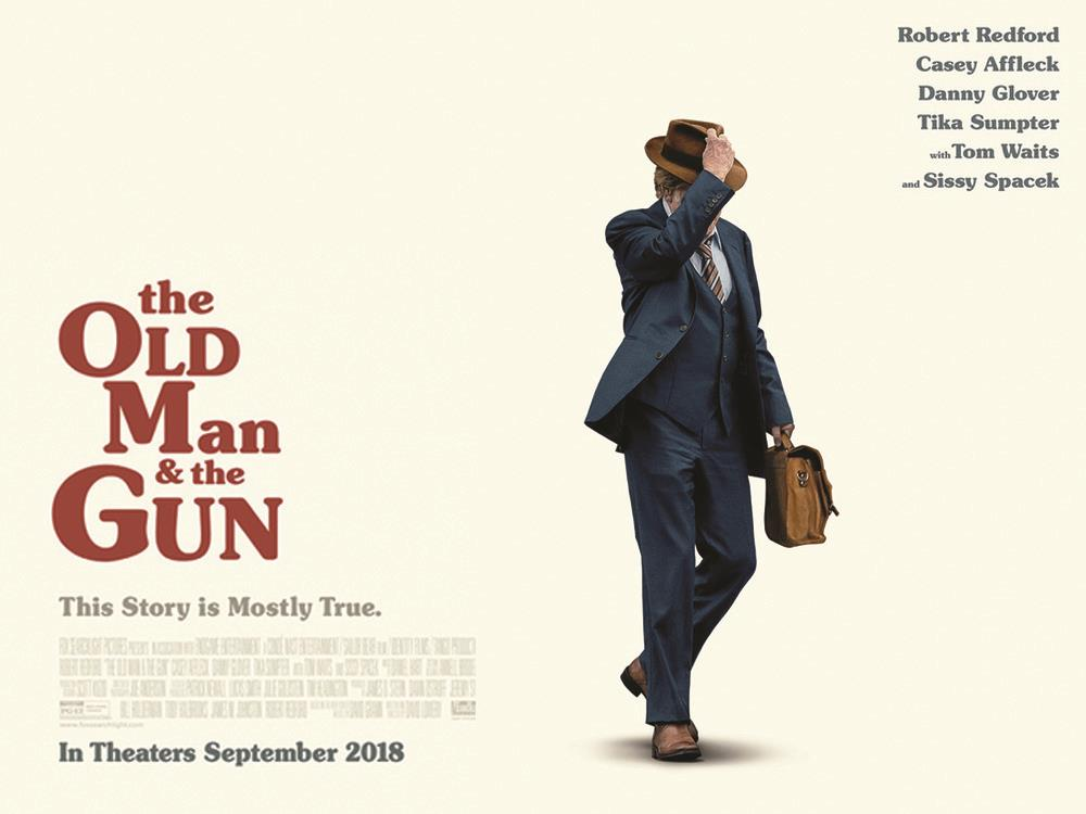 SS: The Old Man & The Gun (12A) cover image