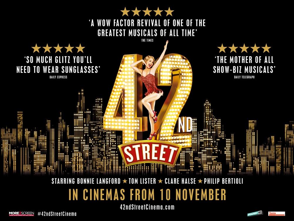 Main image for 42nd Street – The Musical (12A)