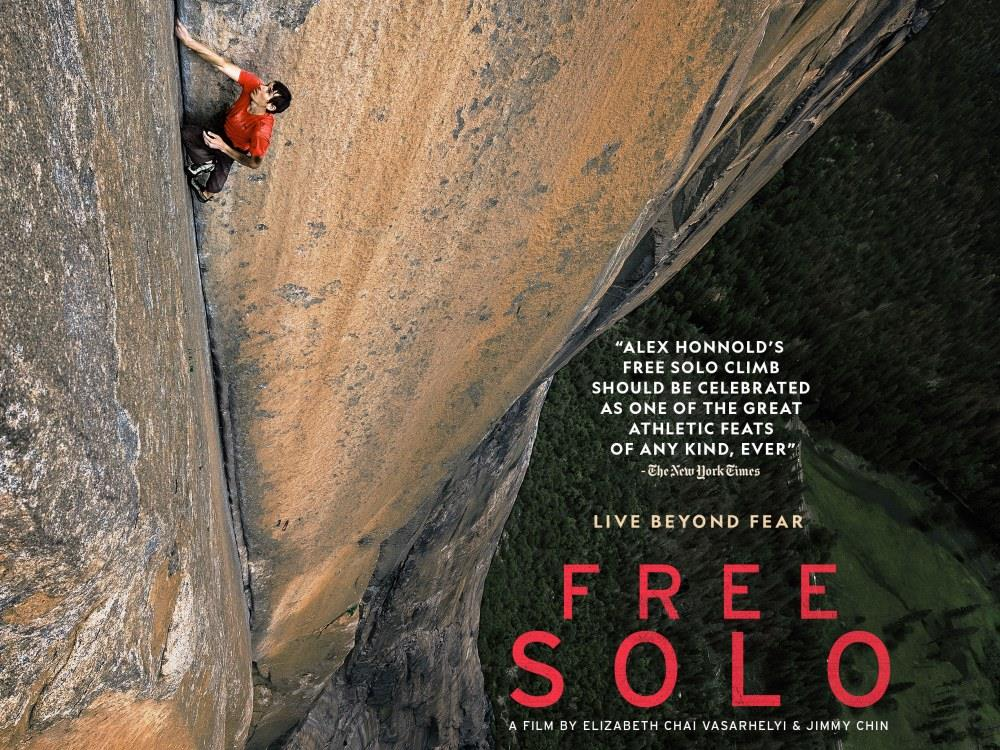 Free Solo (12A) cover image