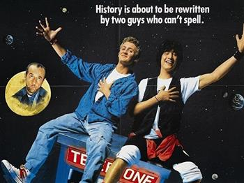 Featured image for Bill & Ted's Excellent Adventure (PG)