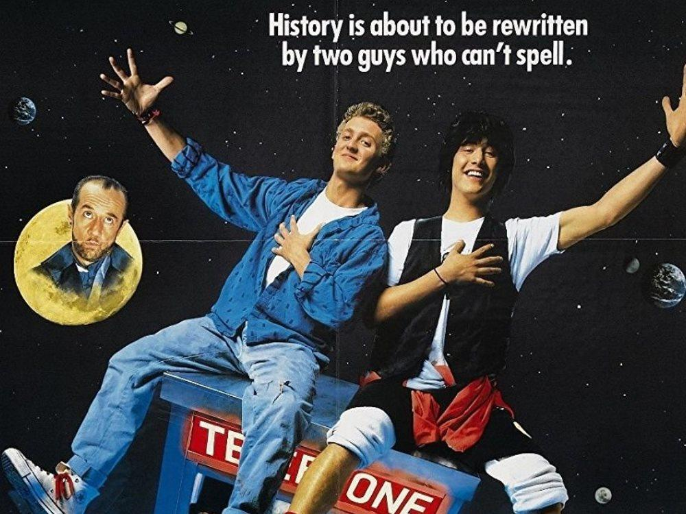 Main image for Bill & Ted's Excellent Adventure (PG)