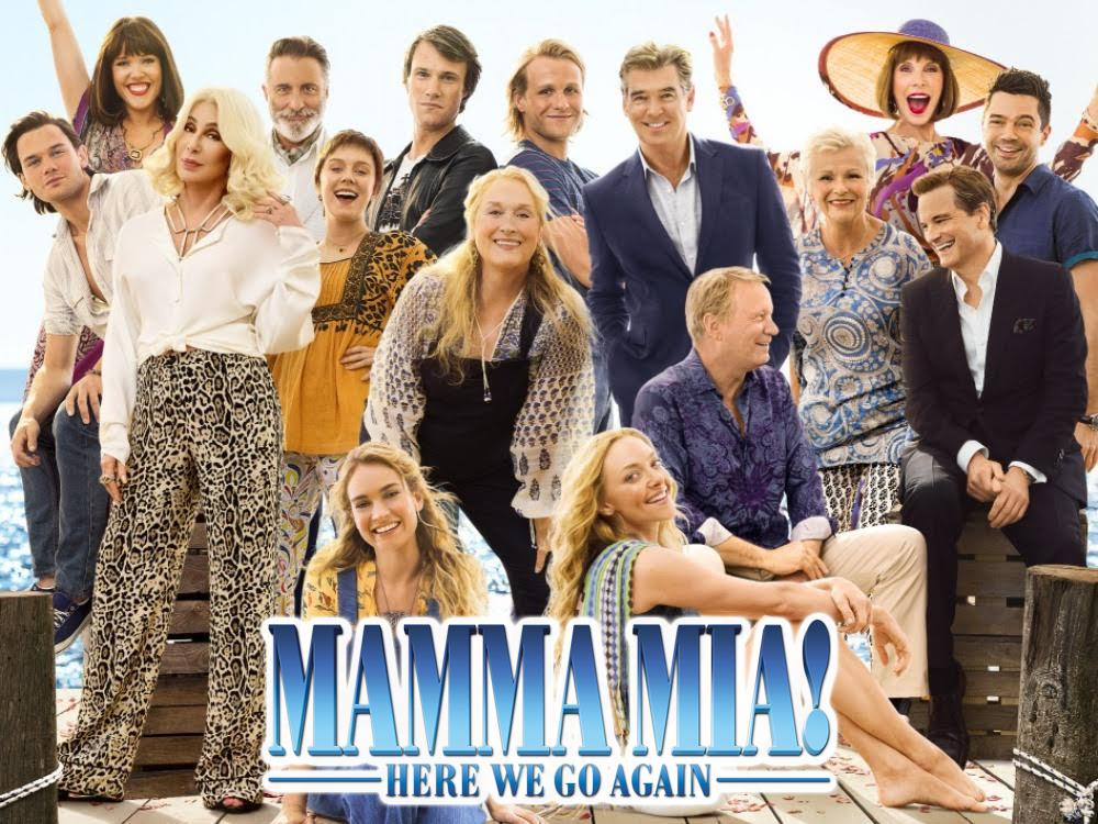 Mamma Mia! Here We Go Again – SING-ALONG (PG) cover image
