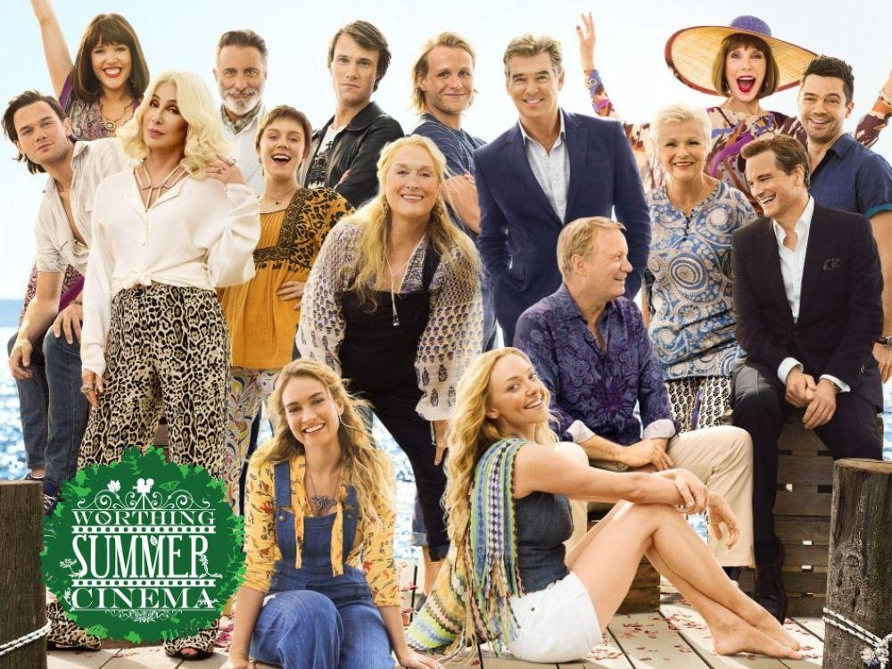 Main image for Worthing Summer Cinema: Mamma Mia Double Bill (PG)