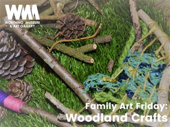 Featured image for Family Art Friday: Woodland Crafts