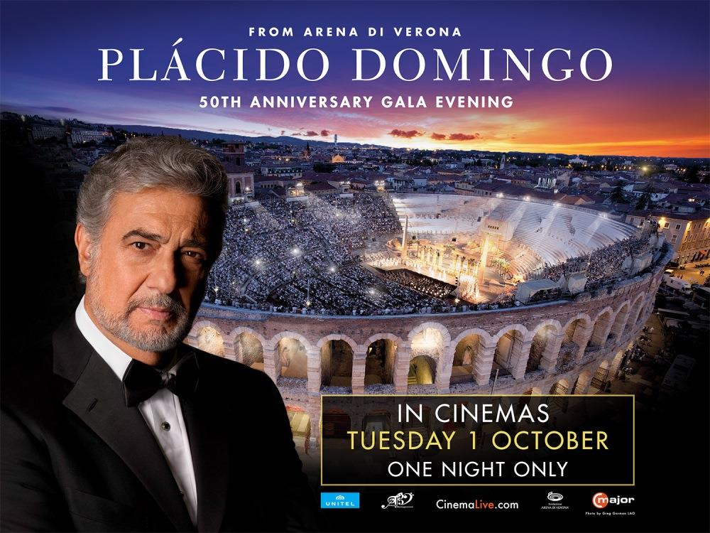 Main image for Placido Domingo: 50th Anniversary Gala (12A)