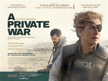 Featured image for A Private War + Satellite Q&A (15)