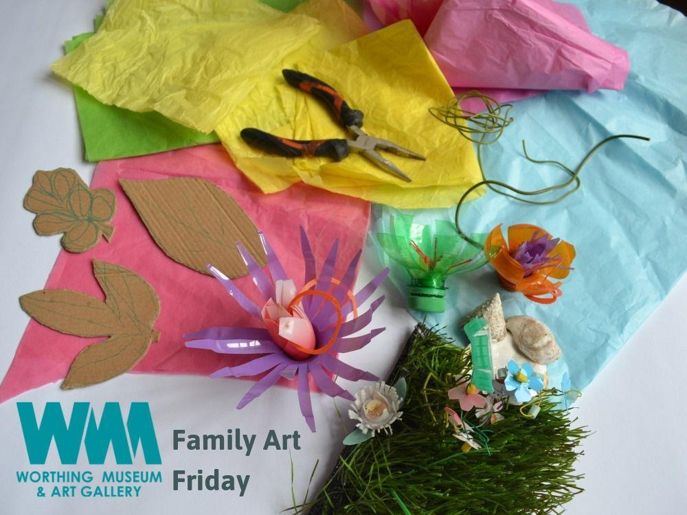 Main image for Family Art Friday: Summer Crafts