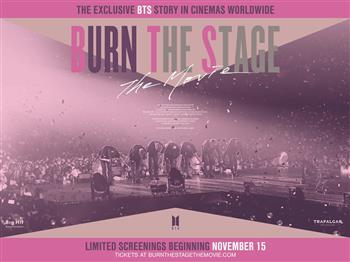 Featured image for BTS: Burn The Stage – The Movie (U)
