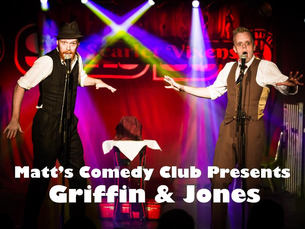 Main image for Matt's Comedy Club presents Griffin & Jones