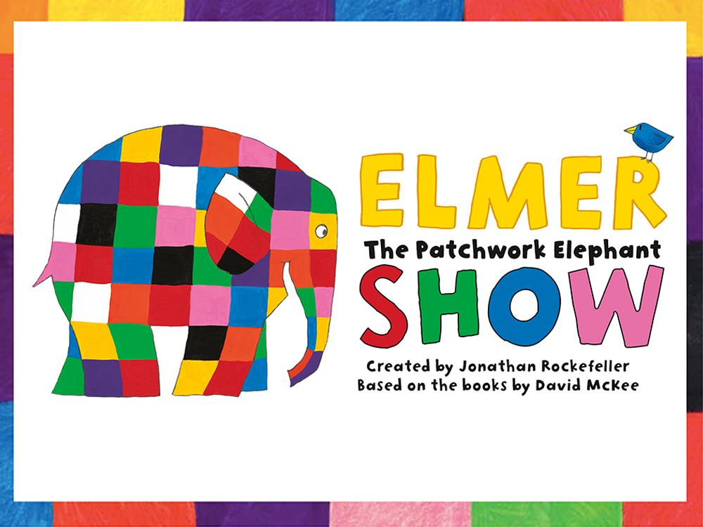 Main image for Elmer The Patchwork Elephant