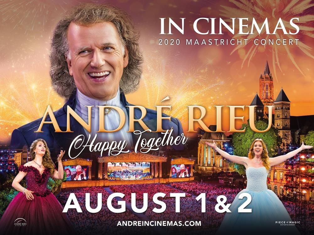 Main image for Andre Rieu: Happy Together (U)