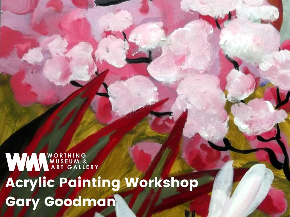 Main image for Acrylic painting with Artist Gary Goodman