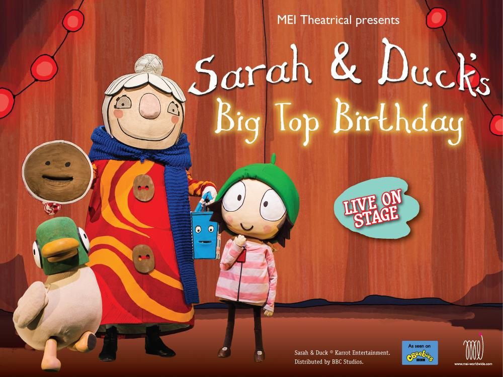 Main image for Sarah & Duck's Big Top Birthday