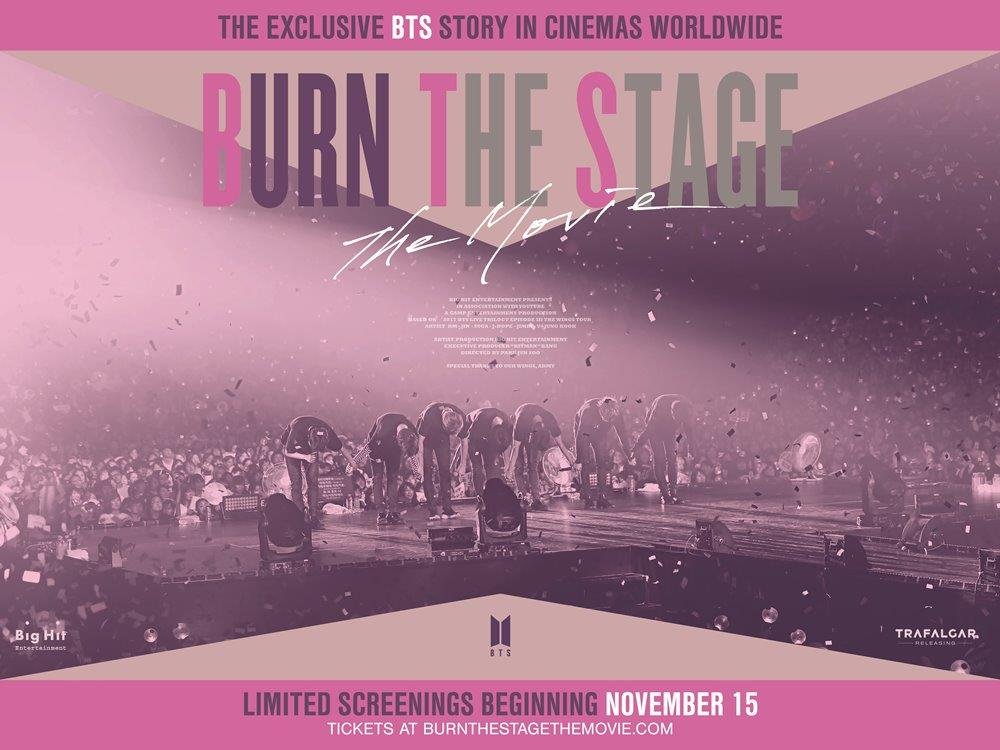 BTS: Burn The Stage – The Movie (U) cover image
