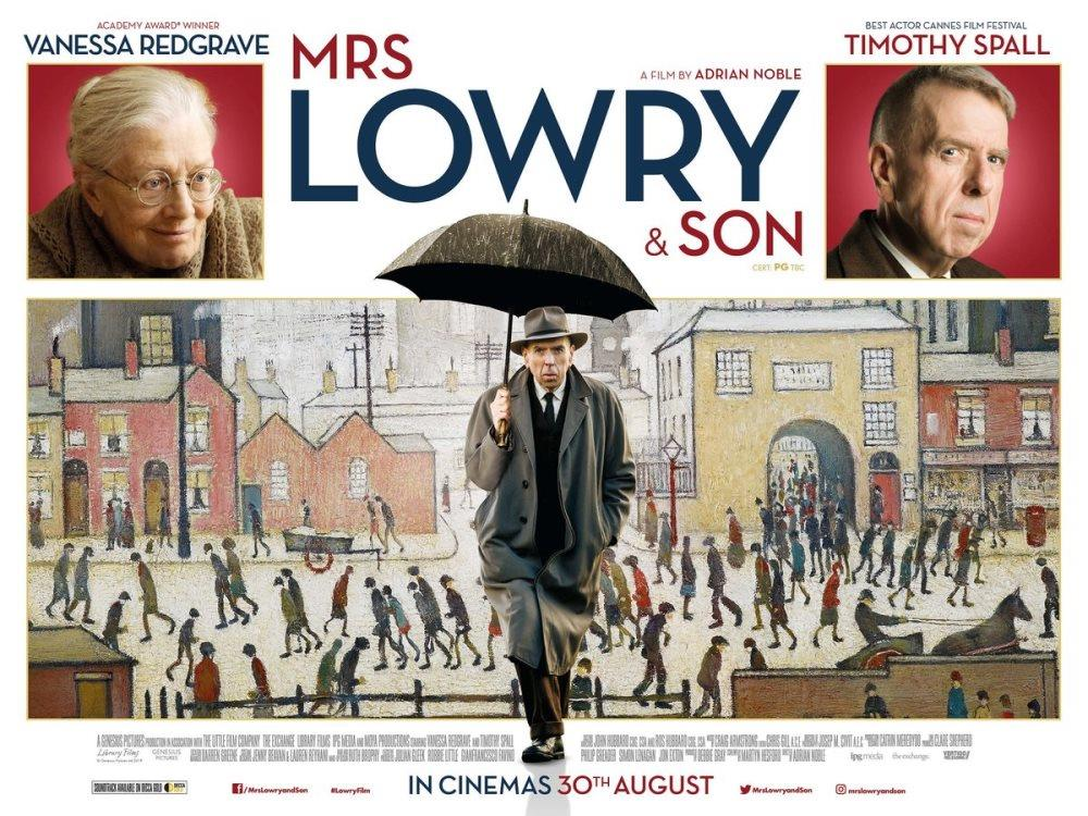 Main image for Mrs Lowry & Son (PG)