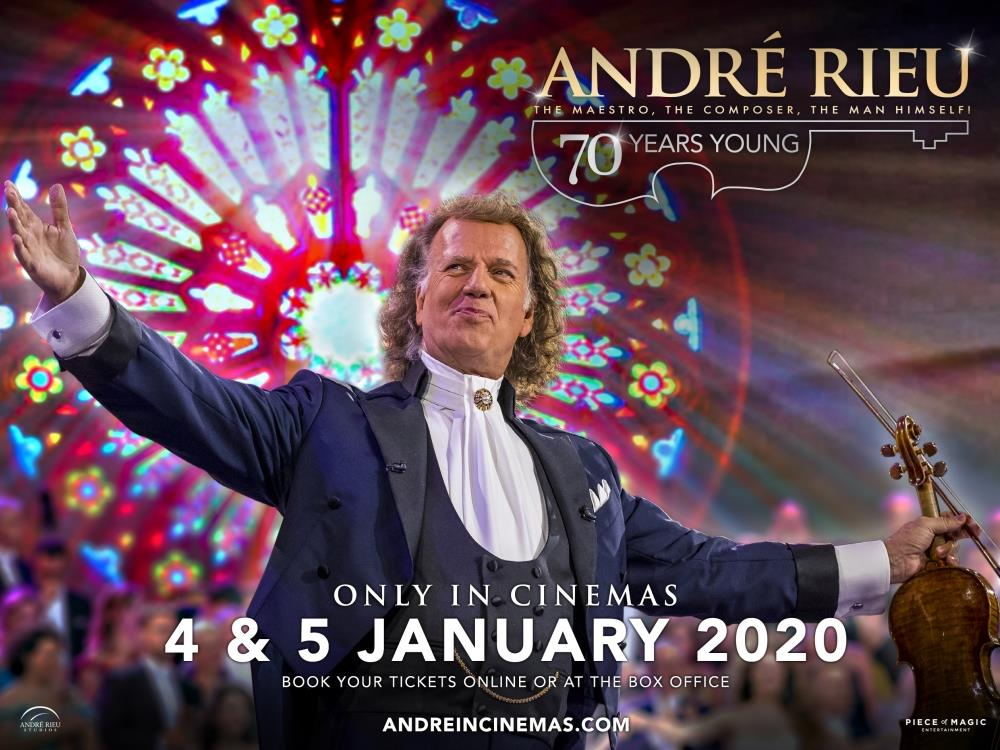 Main image for Andre Rieu: 70 Years Young (U)