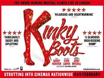 Featured image for Kinky Boots – The Musical (12A)