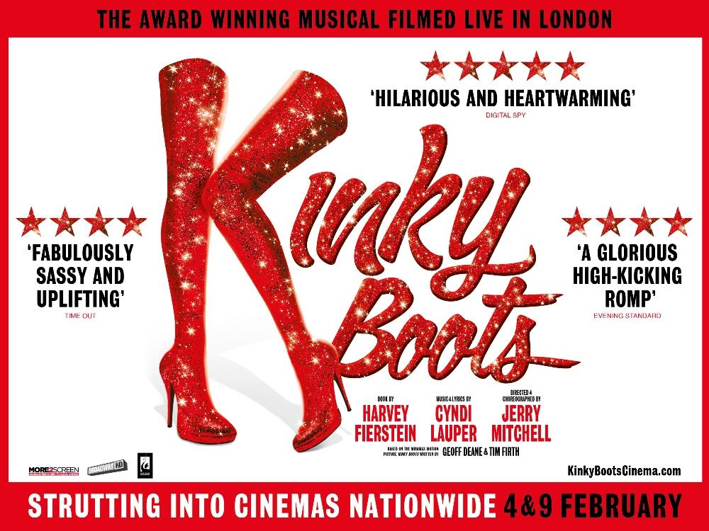 Main image for Kinky Boots – The Musical (12A)