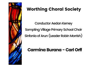 Featured image for Worthing Choral Society: Choral Concert Carmina Burana