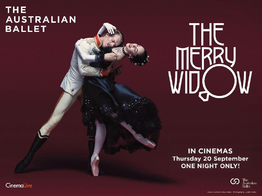 Australian Ballet: The Merry Widow (12A) cover image