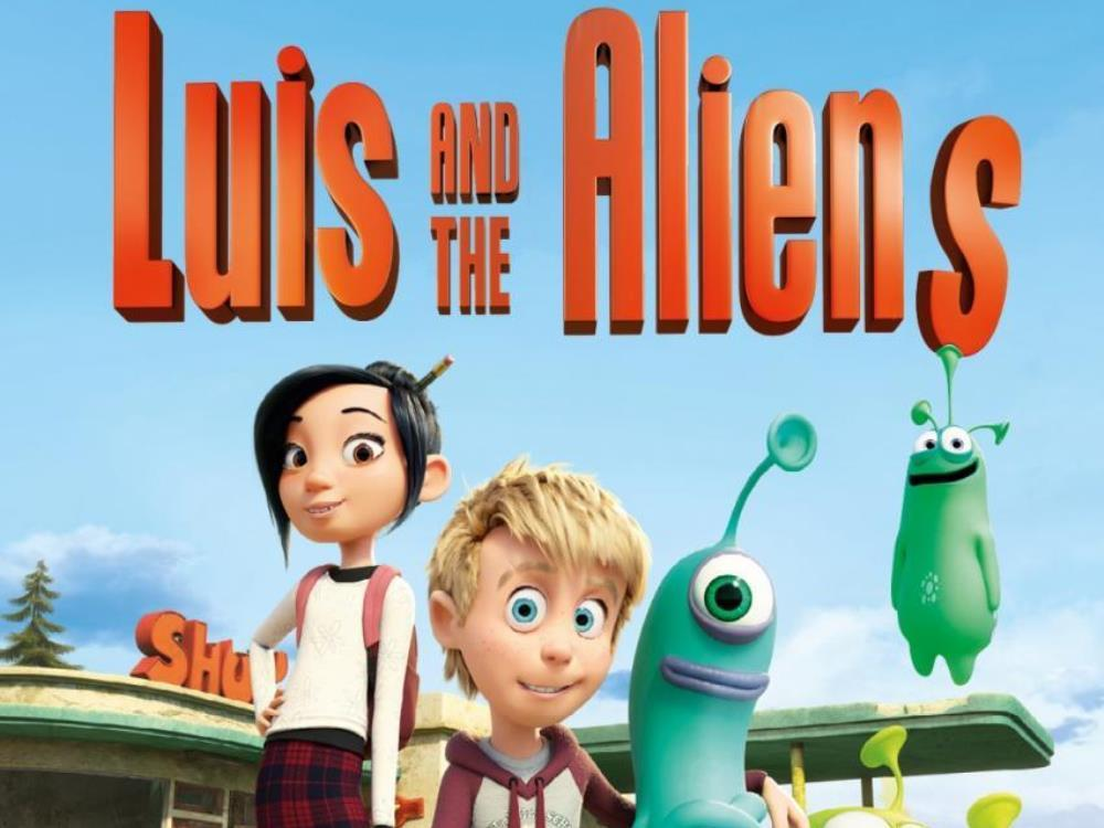 SMP: Luis and the Aliens (U) cover image