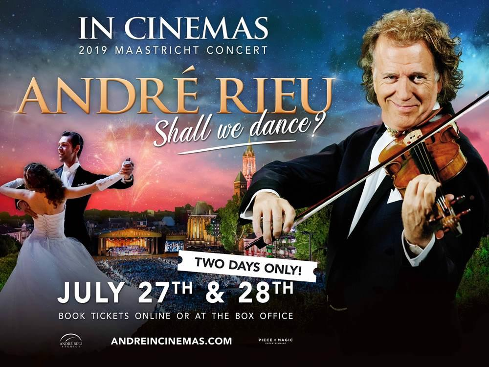 Main image for Andre Rieu Maastricht 2019: Shall We Dance? (U)