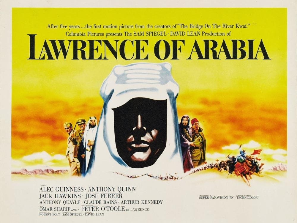Lawrence of Arabia (PG) cover image
