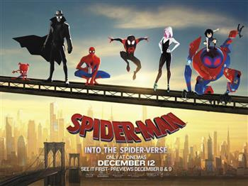 Featured image for Autism Friendly: Spider-Man: Into the Spider-Verse (PG)