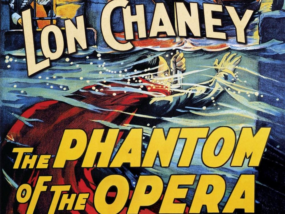 Phantom of The Opera – Silent film with live Wurlitzer score (PG) cover image