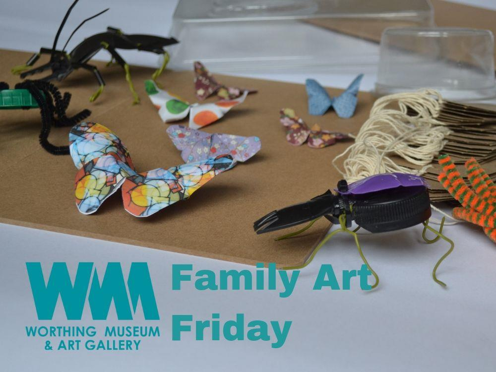 Main image for Family Art Friday: Natural History Museum