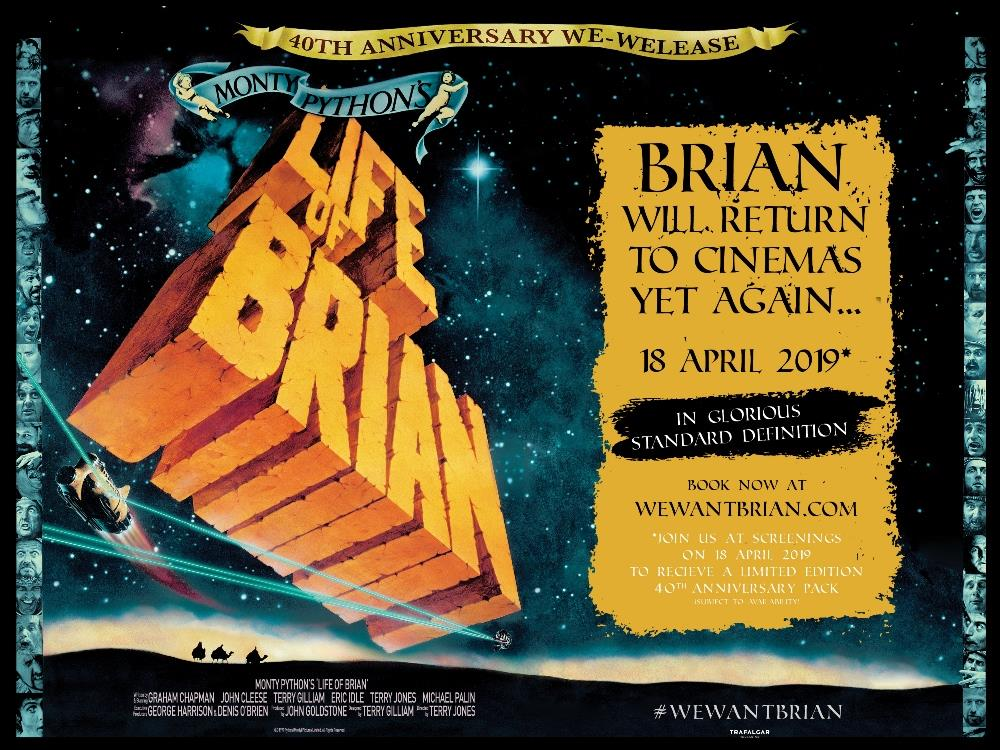 Main image for Monty Python's Life of Brian (15)