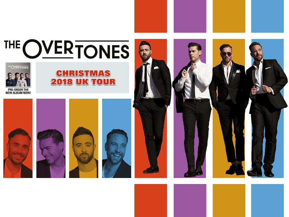 Main image for The Overtones Xmas 2018