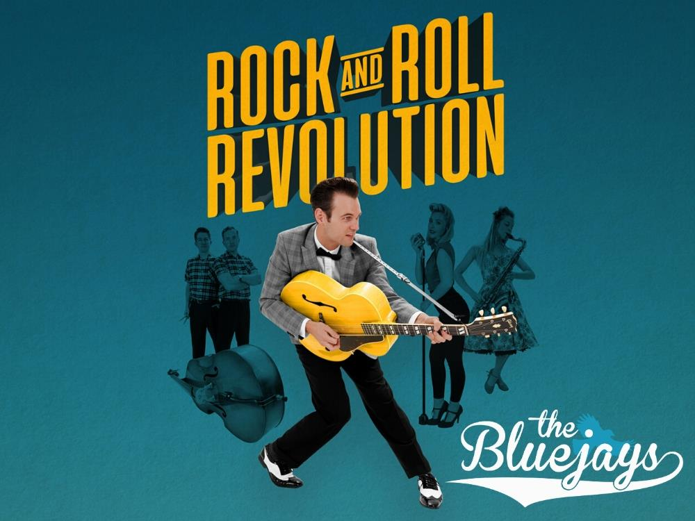 Main image for The Bluejays – Rock and Roll Revolution