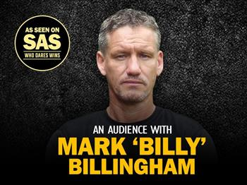 Featured image for An Audience with Mark 'Billy' Billingham