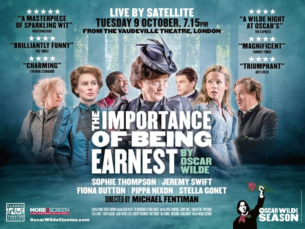 Oscar Wilde Live: The Importance of Being Earnest (12A) cover image