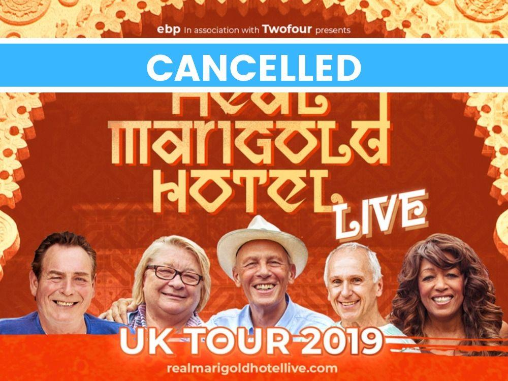 Main image for The Real Marigold Hotel Live – Cancelled