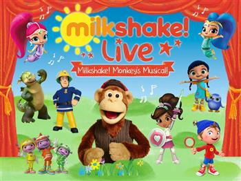 Featured image for Milkshake! Live – Milkshake Monkey's Musical