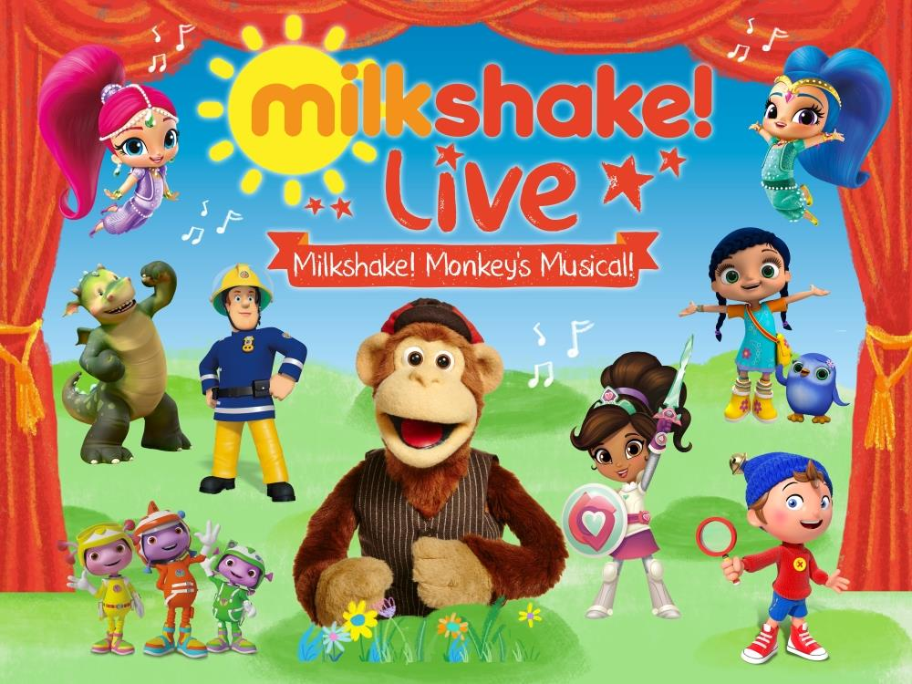 Main image for Milkshake! Live – Milkshake Monkey's Musical