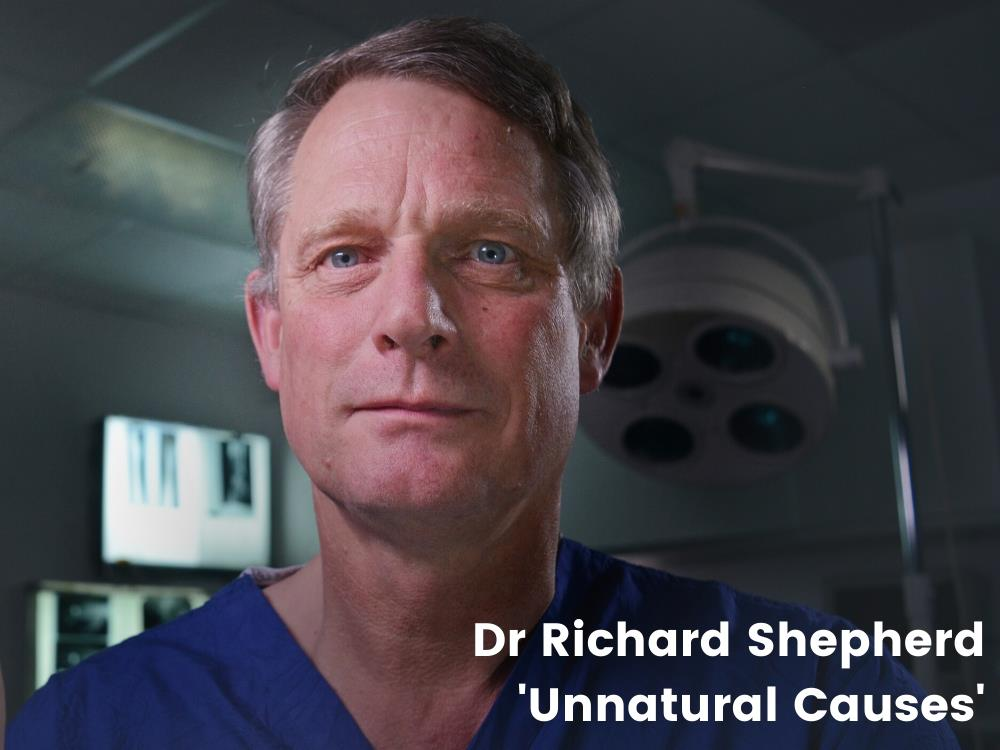 Main image for An Evening with Doctor Richard Shepherd 'Unnatural Causes'