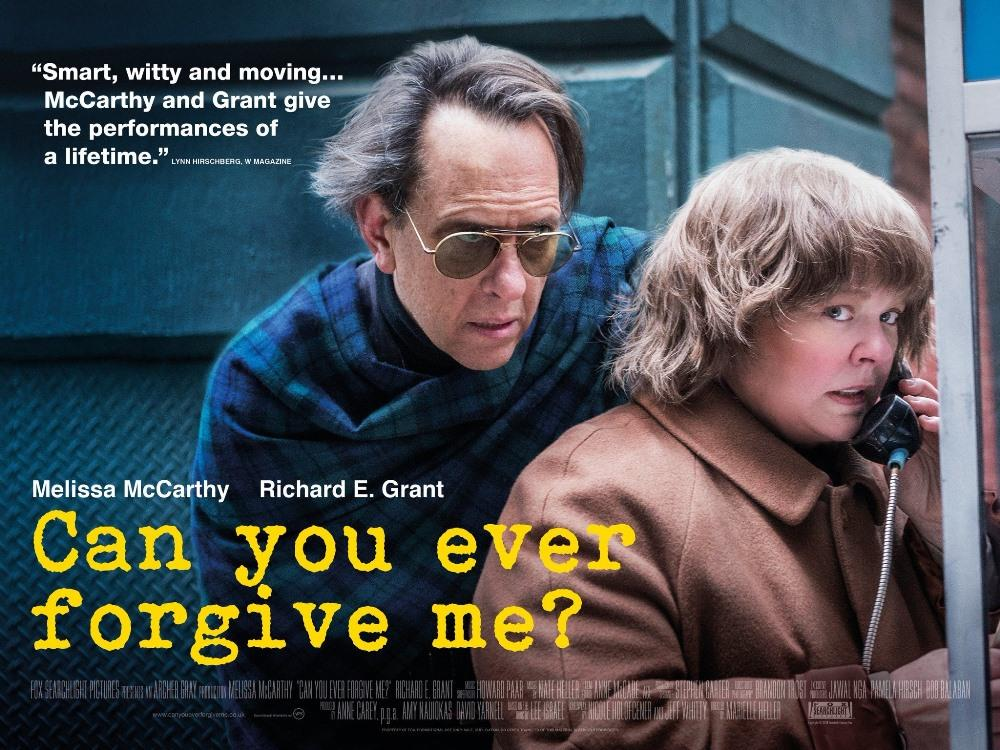 Main image for SS: Can You Ever Forgive Me? (15)