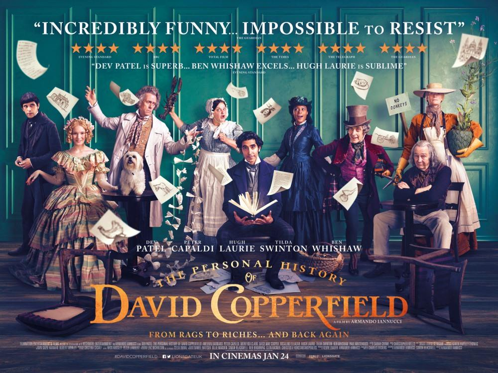 Main image for The Personal History of David Copperfield (PG)