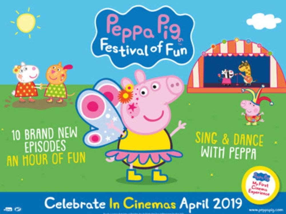 Main image for Peppa Pig: Festival of Fun (U)