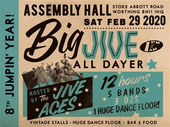 Featured image for The Big Jive All-Dayer