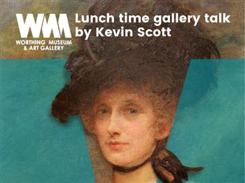 Featured image for Female Voices:  Lunch time gallery talk by Kevin Scott