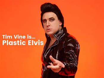 Featured image for Tim Vine is Plastic Elvis