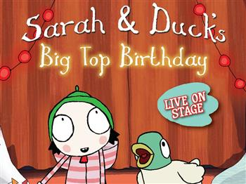 Featured image for Sarah & Duck's Big Top Birthday